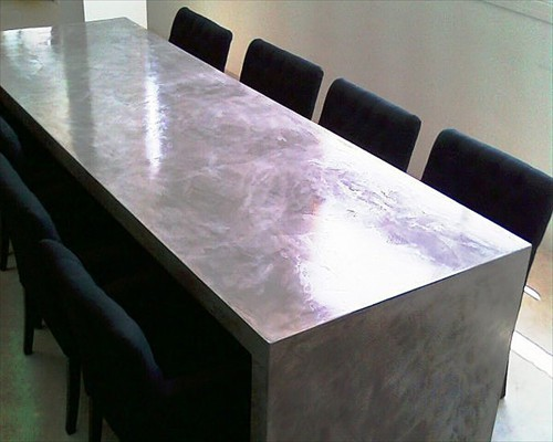 micro screed table top installed in edinburgh scotland