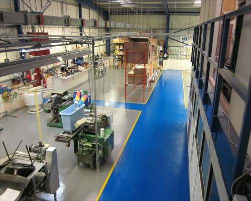 Seamless Anti Slip Factory Floor Coating System County Durham