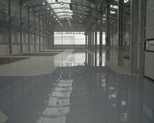Seamless Antistatic Flowable Polyurethane Resin Flooring Limerick