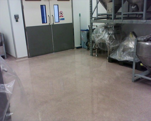 Seamless Resin Flooring Epoxy Flake System Brighton Sussex