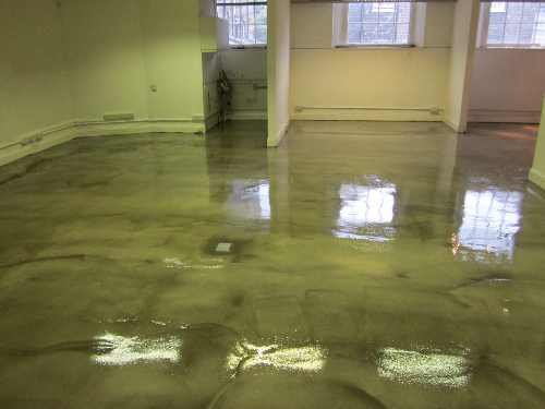 Clear High Gloss Polyurethane Concrete Floor Coatings