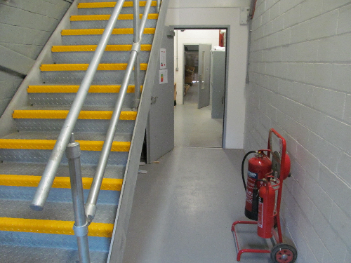 Industrial concrete floor painting Middlesbrough