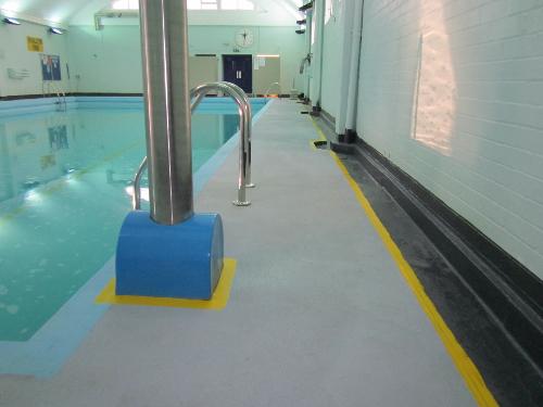 Anti slip resin flooring North East and Yorkshire areas