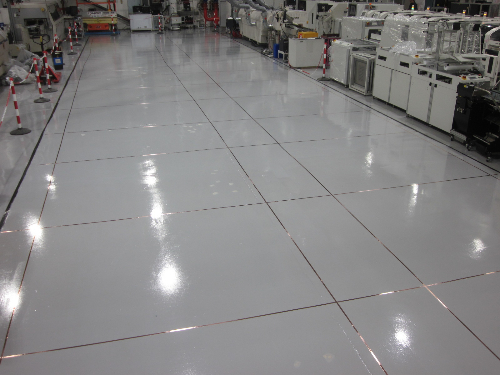 Anti Static Flooring : Anti static epoxy resin floors coatings screeds north east