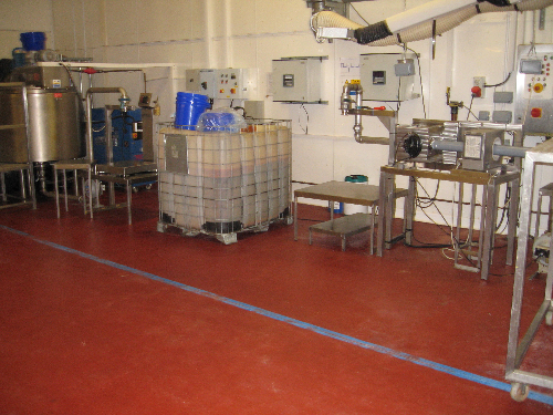 Commercial kitchen flooring County Durham