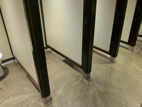 Metallic epoxy resin flooring North East England UK