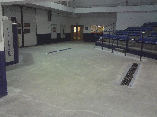 Dust free surface preparation of concrete in Bristol