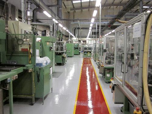 Industrial floor painting and resin coatings North East