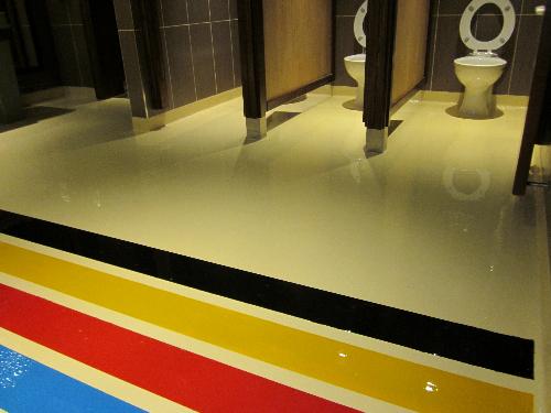 Epoxy resin flooring Witney Oxfordshire