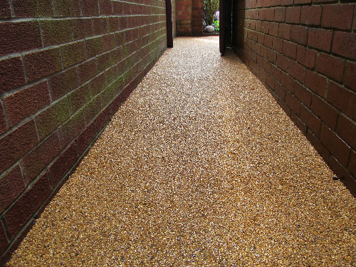 Resin exteriors pathways paving surfaces Sunderland