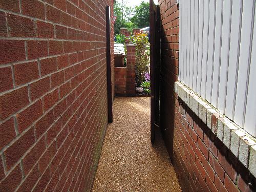 Resin Exteriors gravel floor screeds resurfacing system
