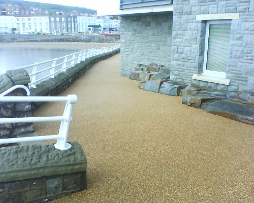 exterior resin flooring county Durham