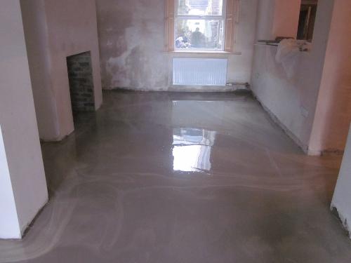 Pumpable industrial floor screed Newcastle Upon Tyne