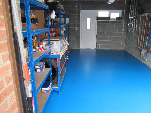 Garage flooring Durham in the North East of England
