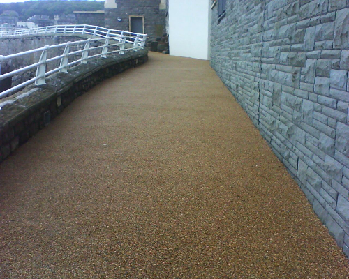 hard landscaping resin bound gravel surfaces Durham