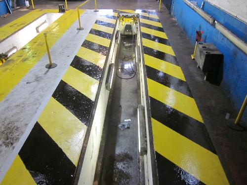 Warehouse floor painting coatings Tyne and Wear