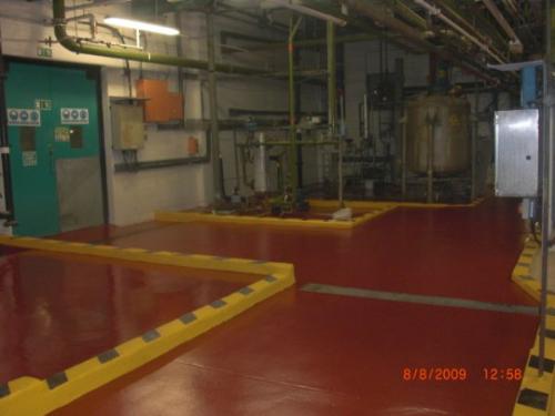 Industrial concrete floor protective coating North East