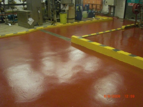 Polyurethane industrial resin floor coating North East