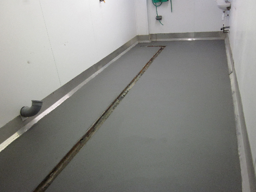 Seamless food grade flooring Whitby North Yorkshire
