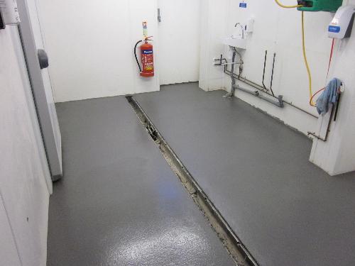 Hygienic heavy duty polyurethane floor screed Whitby