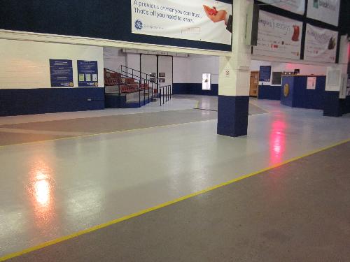 Anti slip polyurethane floor coatings sealer North East