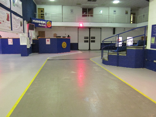 Industrial floor paint and coatings Newcastle Upon Tyne