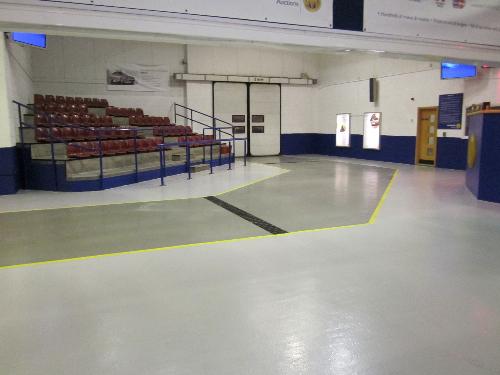 Industrial anti slip flooring system North East England