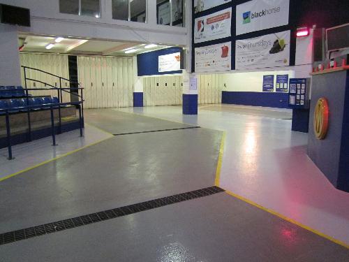 Industrial floor painting Sunderland Tyne and Wear