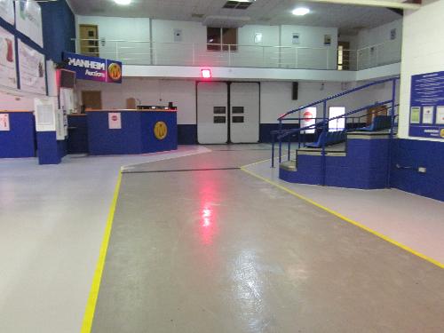 Industrial slip resistant resin flooring North East