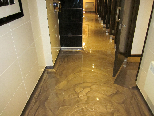Metallic Designer Resin Flooring Newcastle Upon Tyne