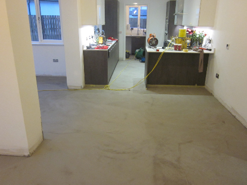 Microscreed decorative concrete surfaces Aberdeen