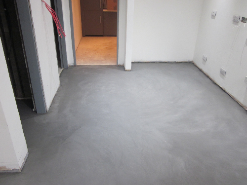 Microscreed flooring installation Carlisle Cumbria