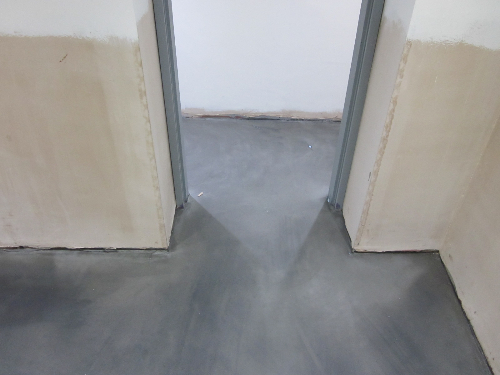 Microscreed floors installation North West England