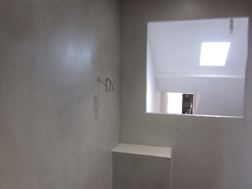 Microscreed residential installation Jesmond Newcastle