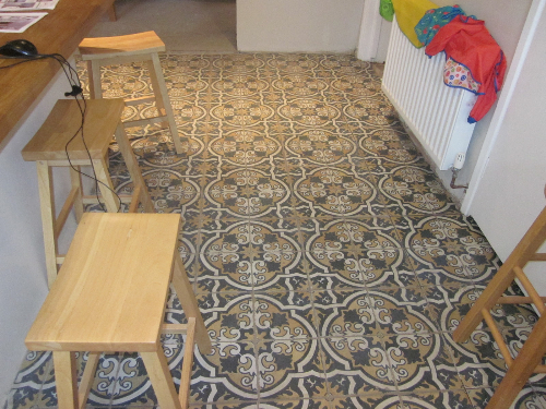 Before installation of flooring system Newcastle