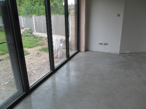Polished concrete floors York North Yorkshire