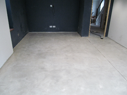 Residential microscreed installation at York property