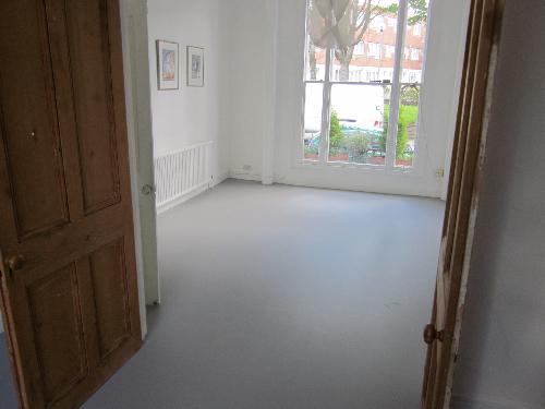Poured resin comfort flooring London
