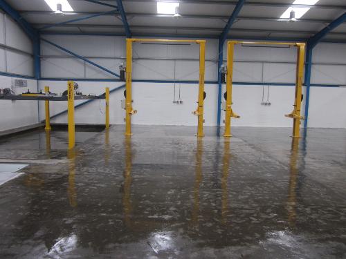 Epoxy resin floor sealer primer North East England