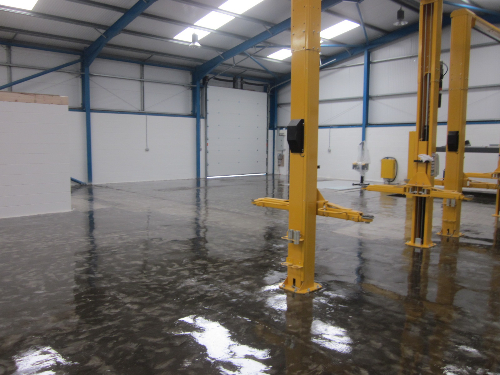 Industrial epoxy resin coatings North East England
