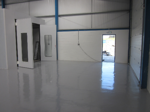 Warehouse floor painting coatings Redcar Cleveland