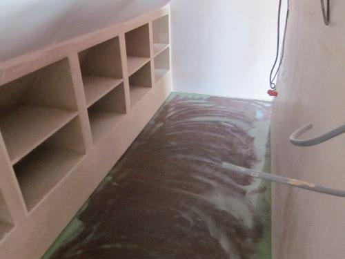 Residential poured resin flooring Sheffield Yorkshire