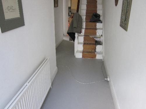 Residential poured resin flooring London