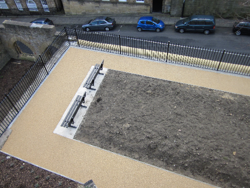 Resin bound surfacing North Shields commercial project