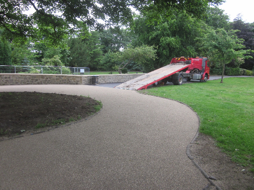 North East Resin bonded pathways and driveways