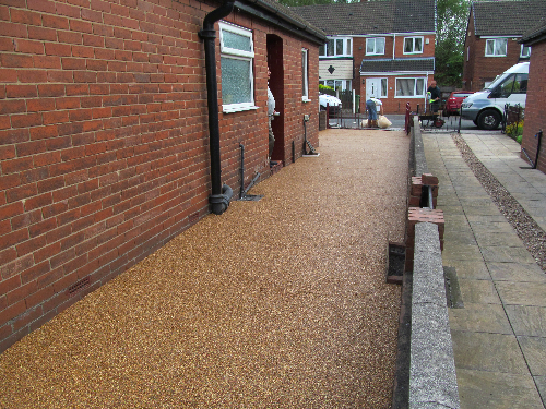 Domestic resin driveways Northumberland resin flooring