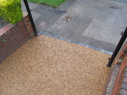 Resin Bound Paving Systems Whitley Bay Tyne and Wear