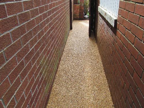 Resin bound paving North Shields resin flooring