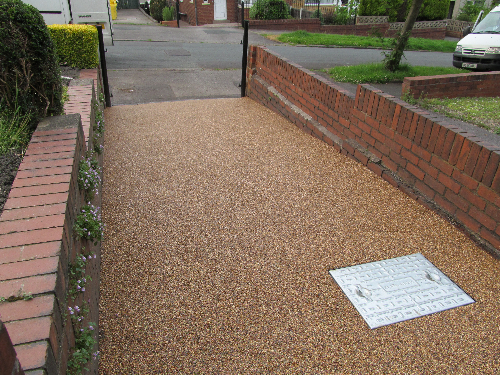 Resin flooring North Shields decorative aggregates