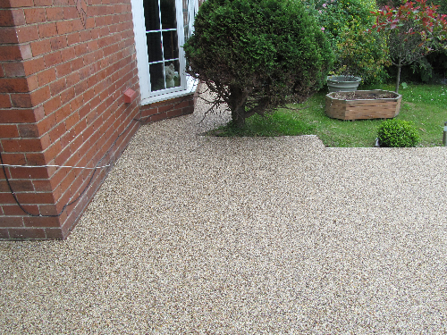 Resin bound gravel Murton North Tyneside